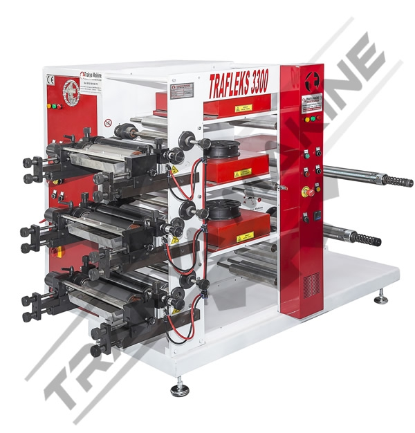 3 Color Flexo Printing Machine  / 3 Color Flexo Printing Machine